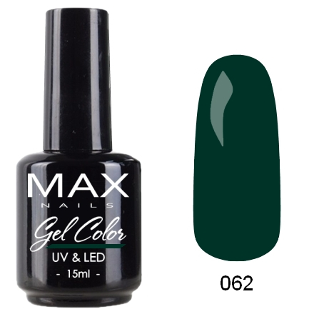 гель-лак max nails gel color, 062 по цене 349 руб.