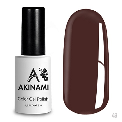 гель-лак akinami color gel polish, classic collection, rose wood а043 по цене 249 руб.